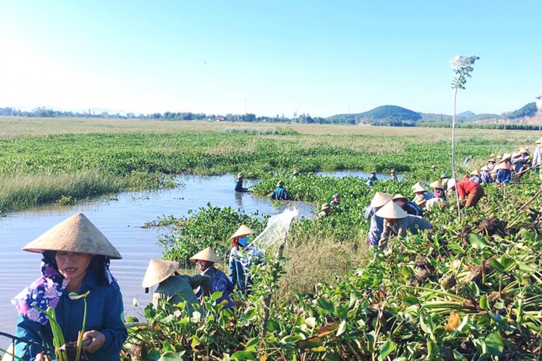 Nghi Hưng (Nghi Lộc): Khơi thông dòng chảy khôi phục sản xuất, làm đẹp cảnh quan môi trường
